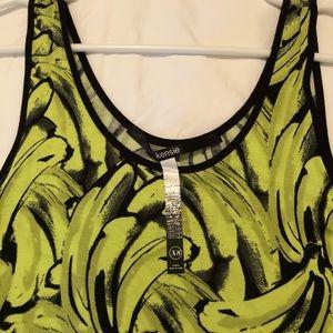 Kenzie Long Knit Patterned Dress